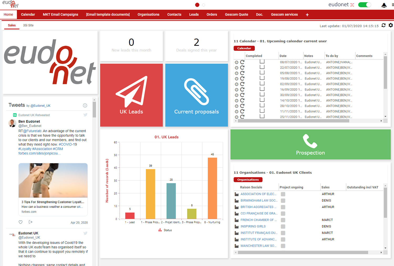 Easily create and customise your reports